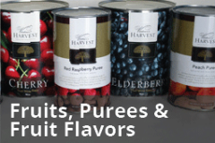 Fruits, Purees and Flavors