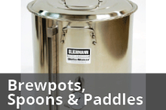 Brew Kettles, Mash Paddles and Brewing Spoons