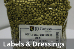 Labels and Bottle Dressings