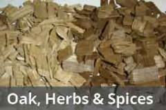 Oak, Herbs and Spices