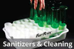 Sanitizers and Cleaning Equipment