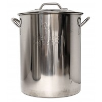 Stainless Steel Brewpot, 16 Gallon