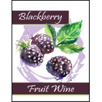 Labels - Blackberry Fruit Wine