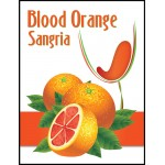 Labels - Blood Orange Sangria