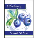 Labels - Blueberry Fruit Wine