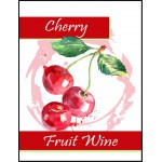 Labels - Cherry Fruit Wine
