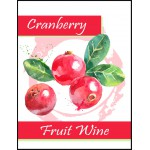 Labels - Cranberry Fruit Wine