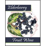 Labels - Elderberry Fruit Wine