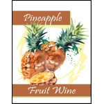 Labels - Pineapple Fruit Wine