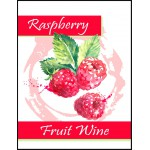 Labels - Raspberry Fruit Wine