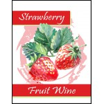 Labels - Strawberry Fruit Wine