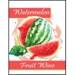 Labels - Watermelon Fruit Wine