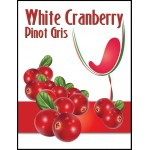 Labels - White Cranberry Pinot Gris