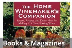 Wine Books and Magazines