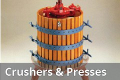 Fruit Crushers and Presses