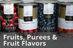 Fruit Bases, Purees and Flavors