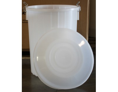 20 Gallon Plastic Fermenter with Lid