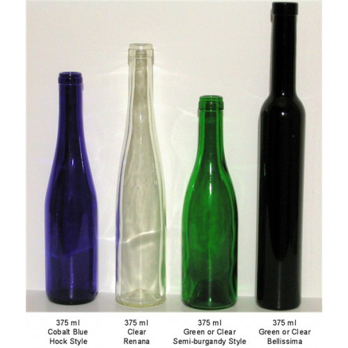 green wine bottle 375ml With 375ml wine bottle labels