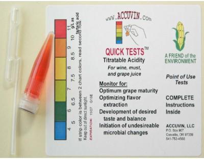 ACCUVIN TA Acidity Test, 10 pk