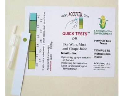 ACCUVIN pH Test Kit, 10 pk