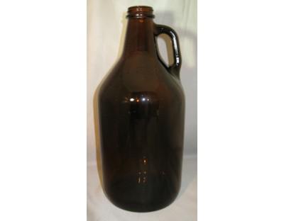 1/2 Gallon Amber Jug
