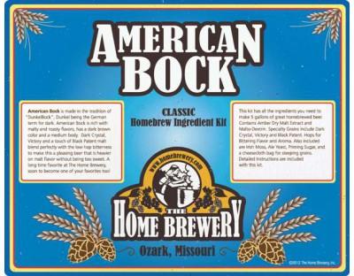 American Bock  Ingredient Kit