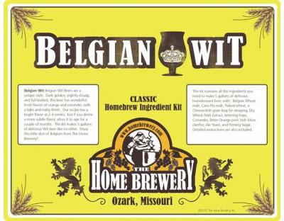 Belgian Wit Beer Ingredient Kit