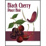 Labels - Black Cherry Pinot Noir