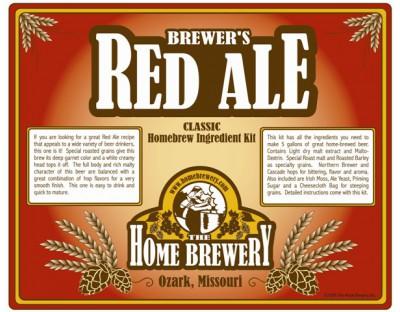 Brewers Red Ale Ingredient Kit