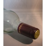 Burgundy with Gold Grapes Heat Shrink 30pk