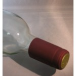 Burgundy Heat Shrink Cap 30 pk