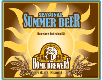 Hibiscus Kolsch Summer Seasonal Ingredient Kit