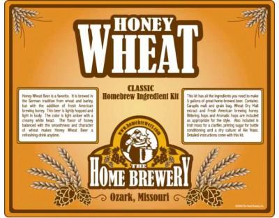 Honey Wheat Beer Ingredient Kit
