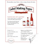 Blue Label Making Paper