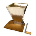 Double Roller Grain Mill with Hopper