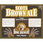 Scots Brown Ale - All Grain Ingredient Kit