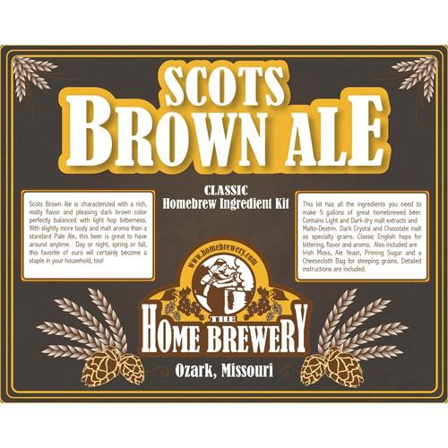 Scots Brown Ale Ingredient Kit