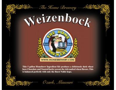 Weizenbock  - All Grain Ingredient Kit