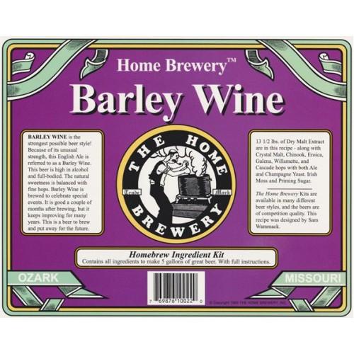 Barley Wine Ingredient Kit