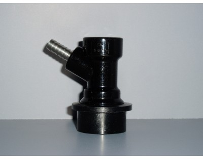Ball Lock Connector ~ Black (Beer Out)