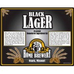 Black Lager - All Grain Ingredient Kit