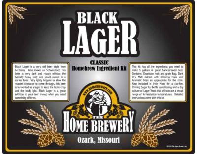 Black Lager Ingredient Kit
