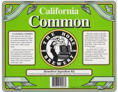 California Common Ingredient Kit