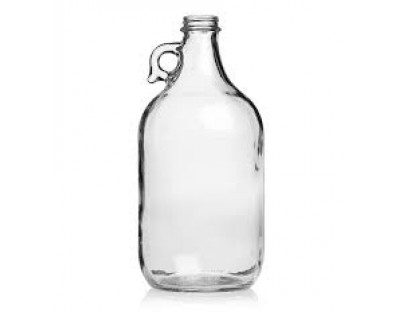 1/2 Gallon Jug, Clear