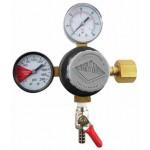 CO2 Regulator Dual Gauge