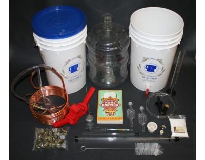 Deluxe Beer Brewing Equipment Kit