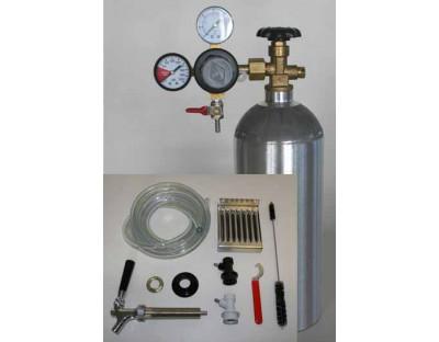 Deluxe Kegging Equipment Kit