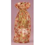 Embroidered Sheer Gift Bag ~ Gold