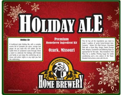 Holiday Ale Ingredient Kit