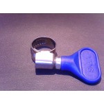 "1/2"" Hose Clamp  (Blue)"